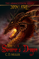 The Sorcerer's Dragon Book Cover by Khaoseden