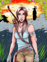 The Light of the Sun Queen - Tomb Raider 2013 by Amanda-Lara1996