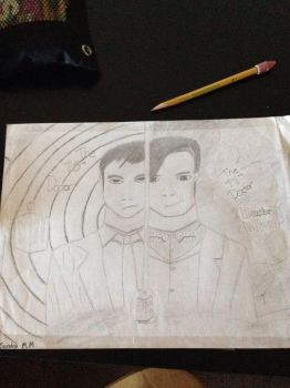 Tenth Doctor and the Eleventh Doctor by skygirl102