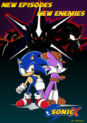 Sonic Club contest: Sonic X ad by ThePandamis