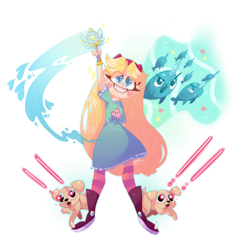 Star Vs. The Forces of Evil by JelloSoda