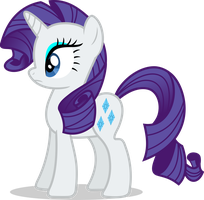 Mlp Fim rarity (...) vector by luckreza8