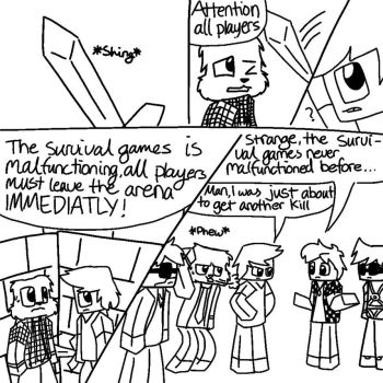 Minecrafted: chapter1 page 2 by Gameaddict1234