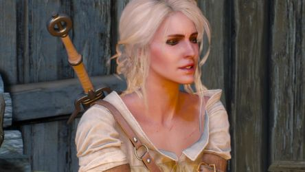 04 The Witcher 3 Ciri by judge1076