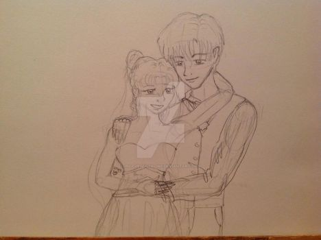 Usagi and Mamoru go to prom by inlovewithaline