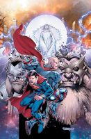 Action Comics cover 972 by aethibert
