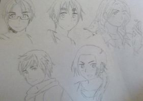 APH - Team - Allies by tea-and-tai