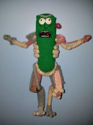 Pickle Rick by amhitchcock
