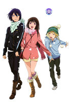 Noragami 03 Render by AeNa34