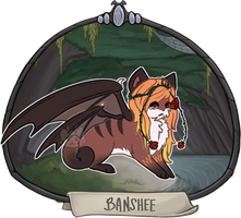 [CLOSED] Halloween Advent Day 31 - Banshee by floramisa