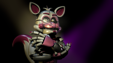 Has the Show Already Started?- Funtime Foxy Render by yoshipower879