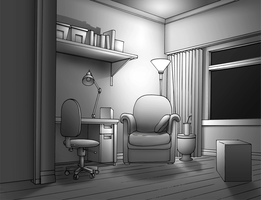 The Room by hermit-homeboy