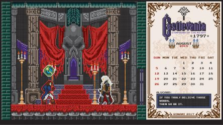 Castlevania Tides Of Times August 2018 by houssamica