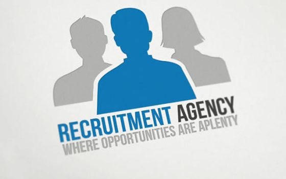 Recruitment Agency Logo by mmounirf