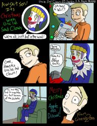 Uncle Sad Clown has Diabetes by SergeXIII