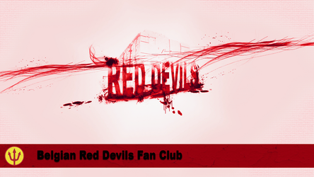 Red Devils'Fan by standard2