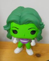 She Hulk Funko pop (wob) by WheresAJacket