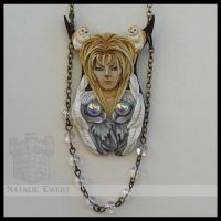 Jareth the owl necklace by natamon on deviantart jareths last offering pendant by natamon mozeypictures Image collections
