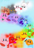 Kirby Rainbow by AshRob89