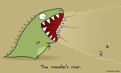 The Monster's Roar by sebreg