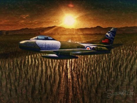 Canadian Canadair Sabre Mk.2 by Shawna Mac by ShawnaMac