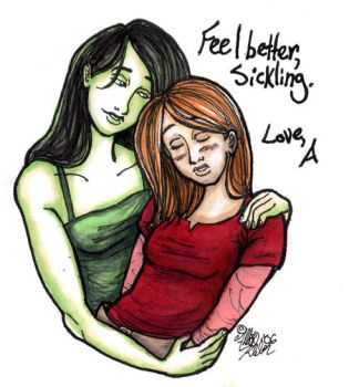 kim and shego - feel better by clytie