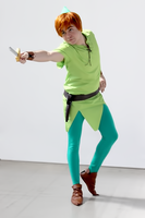 Cosplay: Peter Pan by Abletodoall