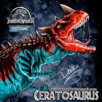 Ceratosaurus by wingzerox86