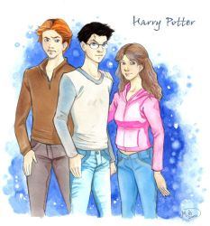 Harry Potter by mary-dreams