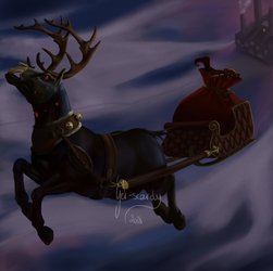 Santa is watching you. by Get-scared-now