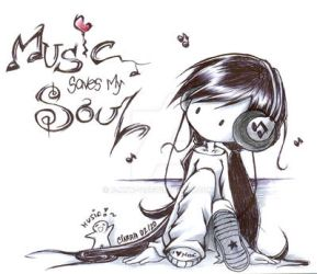 : Music Saves My SouL : by F-AYN-T