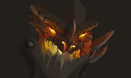 Deathwing WIP by alexee29