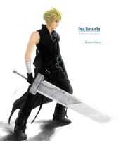 FFVII:AC - Cloud Strife by XsoRa