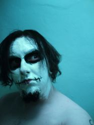 Corpse paint 1 by Andromidus-Stock
