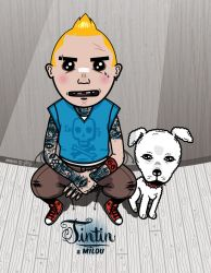 Tintin et Milou by Jeyjie