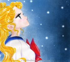 usagi tsukino  -  only in dreams by zelldinchit