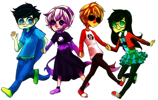 the children made of awesome by digitallyImpaired