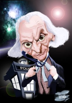 Dr Who 50th Anniversary - William Hartnell by Steveroberts