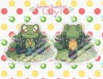 Garden Guardian_Hard Day's Work (ACRYLIC CHARMS) by BagelHero-Works