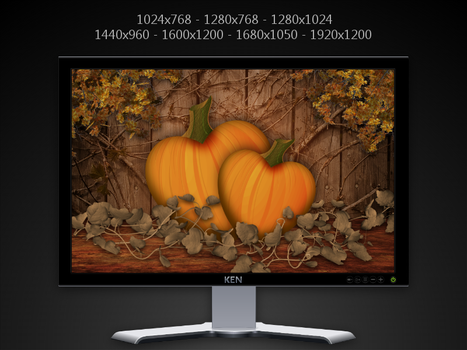 Pumpkin Pair Pack by KenSaunders
