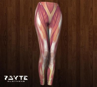 Muscle Leggings by PsyteClothing