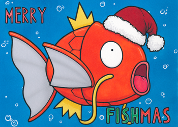 Merry Fishmas by Yamallow