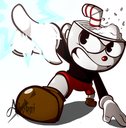 Cuphead (in a nutshell) by iAbokai