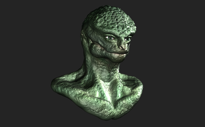 Zbrush - First Sculpt by 3DPad
