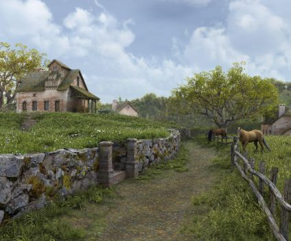 Country Road by curious3d