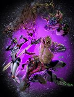 Guardians of the Galaxy by Luis Figueiredo by EComrad