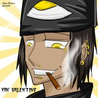 Yan Valentine by Crazy-D