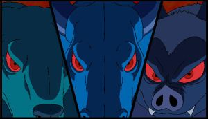 Three Angry Shadows by Hargon10