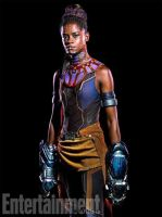 Letitia Wright as Shuri in Marvel's Black Panther by Artlover67