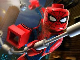 Lego CACW Spider-Man by EarthCenturion
